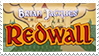 Redwall stamp by svartmoon