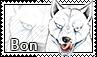 Adult Bon stamp by svartmoon