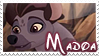 Madoa stamp by svartmoon