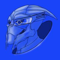 True Blue Turian by virgiliArt