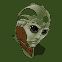 Saved by the Drell by virgiliArt