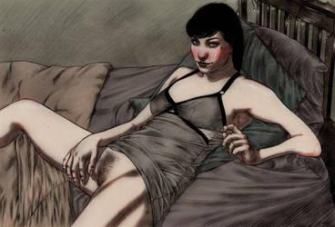 Vincent Noir Paint 05 by itsajackal