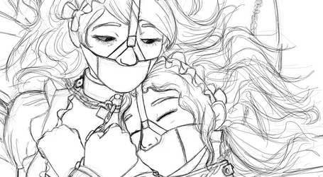 Bride's Maids Sleepy time by Caregan
