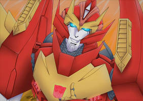 Rodimus by DreamHelly