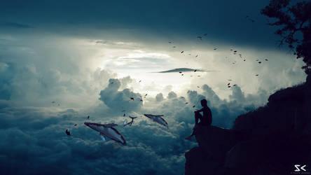 Deep Blue Sea by xLocky