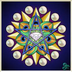 Spiritual Mandala by Kittenpants