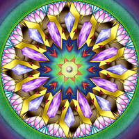 Mandala Challenge 1 by Kittenpants