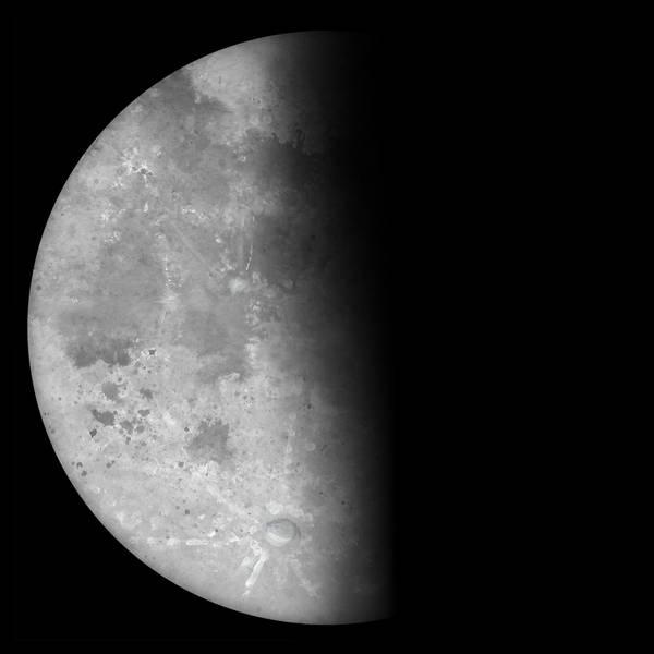 Waning Half Moon by Kittenpants