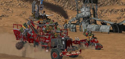 Ork desert by Mapper