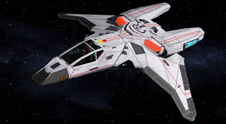 Gryphon-class Warp Fighter by Mapper