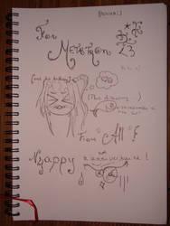 Metatron's Birthday by AllysMarsPrincess