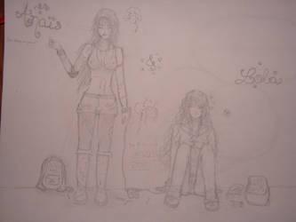 Anais and Lola by AllysMarsPrincess