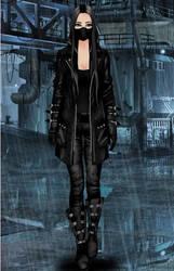 Cyberpunk girl- me by peggyrock801