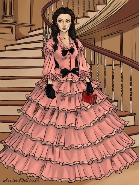 Southern belle- me by peggyrock801