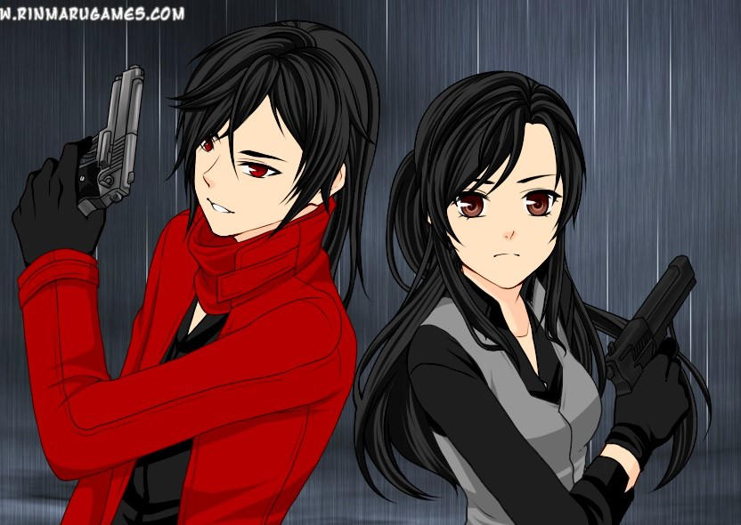 Partners in crime- Vincent Valentine and I by peggyrock801
