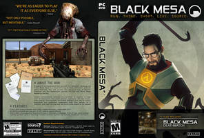 Black Mesa Cover Artwork 01 by UnhingedMouse0