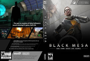 Black Mesa Cover Artwork 02 by UnhingedMouse0