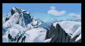 Mountain Study by flockenpracht