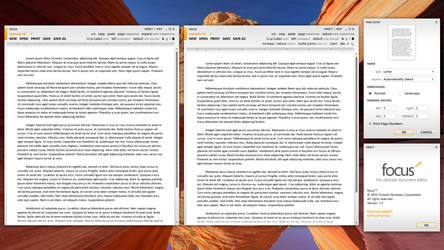 Focus - Text Editor by clindhartsen