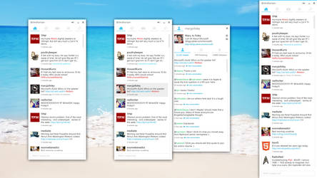 Twitter for Windows by clindhartsen