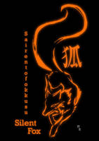 Silent Fox Poster Design by Mikado-Neon
