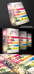 PSD LoverNight Flyer Template by retinathemes