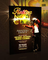Nightclub Flyer Template -PSD- by retinathemes
