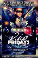 PSD V.I.P Fridays Flyer by retinathemes