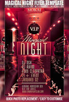 PSD Magical Night Flyer Template by retinathemes