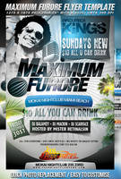 PSD Maximum Furore Flyer Template by retinathemes