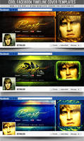 PSD Cool Facebook Timeline Covers by retinathemes