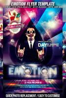 PSD Emotion Flyer Template by retinathemes