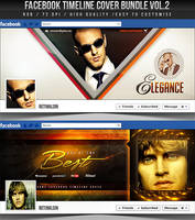 PSD Facebook Timeline Cover Bundle Vol.2 by retinathemes