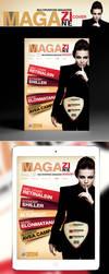 Multipurpose Magazine Cover Template by retinathemes