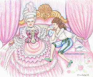The Countess and the Pageboy by RJDaae