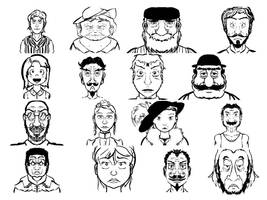 GameStudio Character Thumbnails P2 by Angrysmack