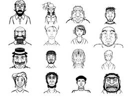 GameStudio Character Thumbnails by Angrysmack