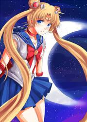 sailor moon by urusai-baka