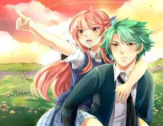Remi and Rei by urusai-baka