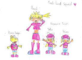 Mario Strikers Charged: The Mach Heart Squad! by OriLance97