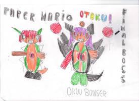 Paper Mario Otaku Final Boss - Okuu Bowser by OriLance97