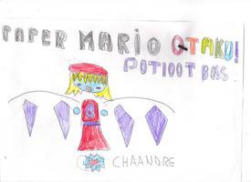 Paper Mario Otaku Pit of the 100 Trials boss  by OriLance97