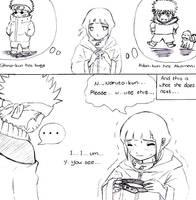Naruto: Hinata wants a pet too by shironezumi