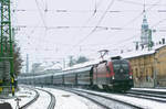 1116 222 with a special train in march, 2010 by MorpheusPhotoworks