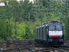 Four MRCE 189s in Budapest Kelenfold by MorpheusPhotoworks