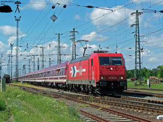 KINK FM Sziget partytrein with 185 604 by MorpheusPhotoworks
