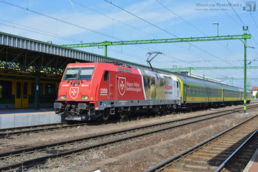 480 013 with an IC train in Sopron by MorpheusPhotoworks