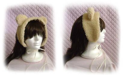 Bear Ear Headdress by monarch-lolita