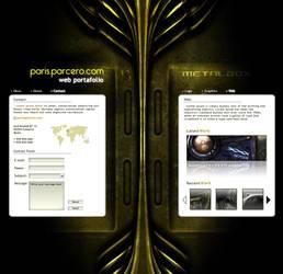 MetalBox Portafolio by Zhyphyr
