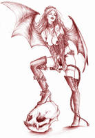 Succubus-Castlevania by LadyCerbero